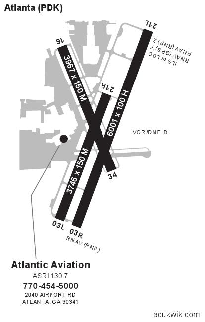 Kpdkdekalbpeachtree General Airport Information