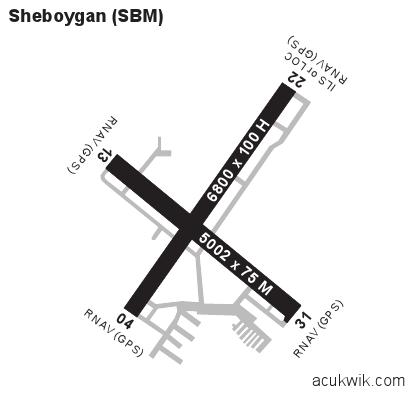 ksbm  sheboygan county memorial general airport information