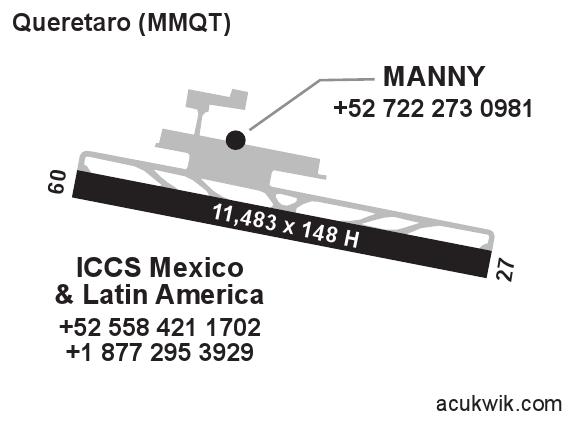 MMQT/Queretaro Intercontinental General Airport Information