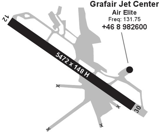 Grafair Jet Center Stockholm City Bromma Ac U Kwik
