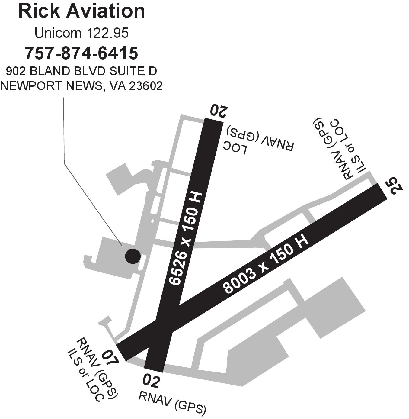 Sensational Rick Aviation Newport News Williamsburg Intl Patrick Henry Field Wiring Digital Resources Lavecompassionincorg