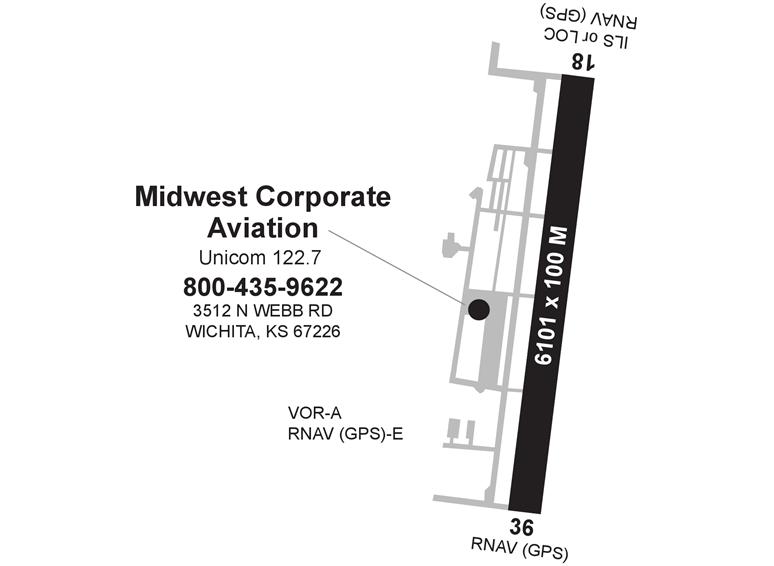 Midwest Corporate Aviation Wichita Col James Jabara Ac