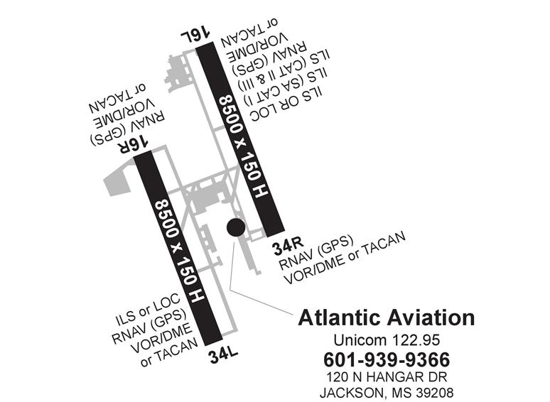 Atlantic Aviation Jackson Evers International Ac U Kwik