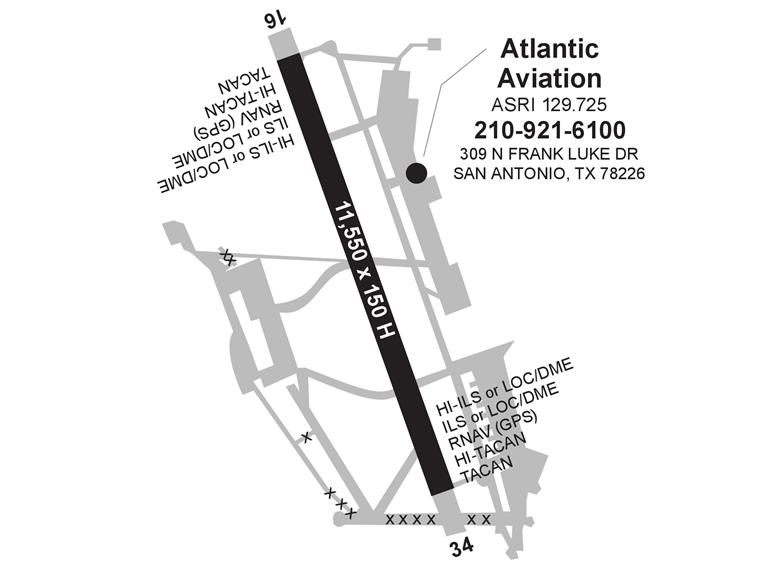 Atlantic Aviation Kelly Field Ac U Kwik