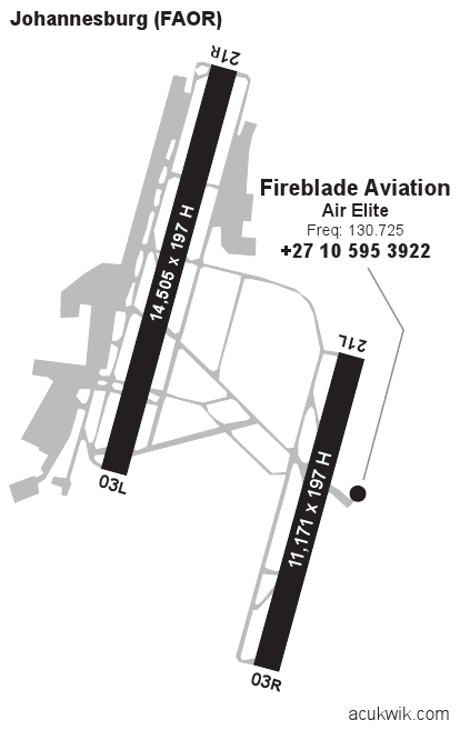 Faor  Or Tambo International General Airport Information